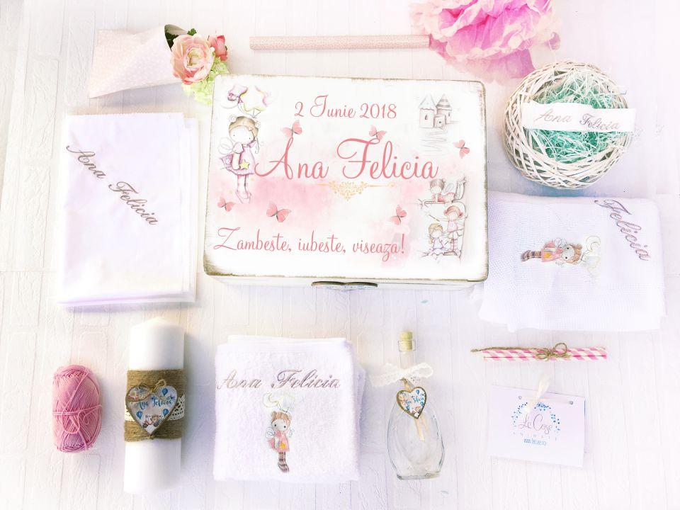 Trusou Botez Personalizat Fairy Love