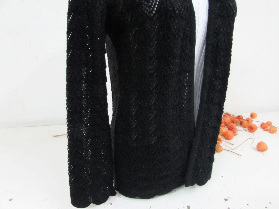 Jacheta din tricot cu lurex