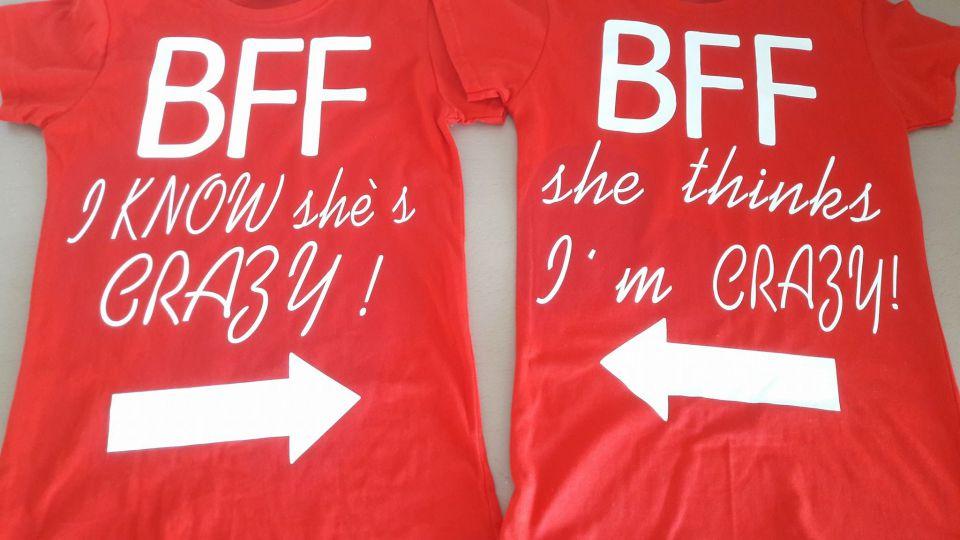 Tricouri Personalizate Best Friends