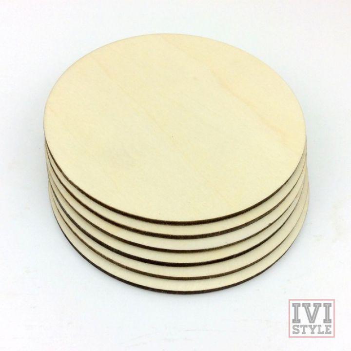 (SET 6) Suport din lemn pentru pahare