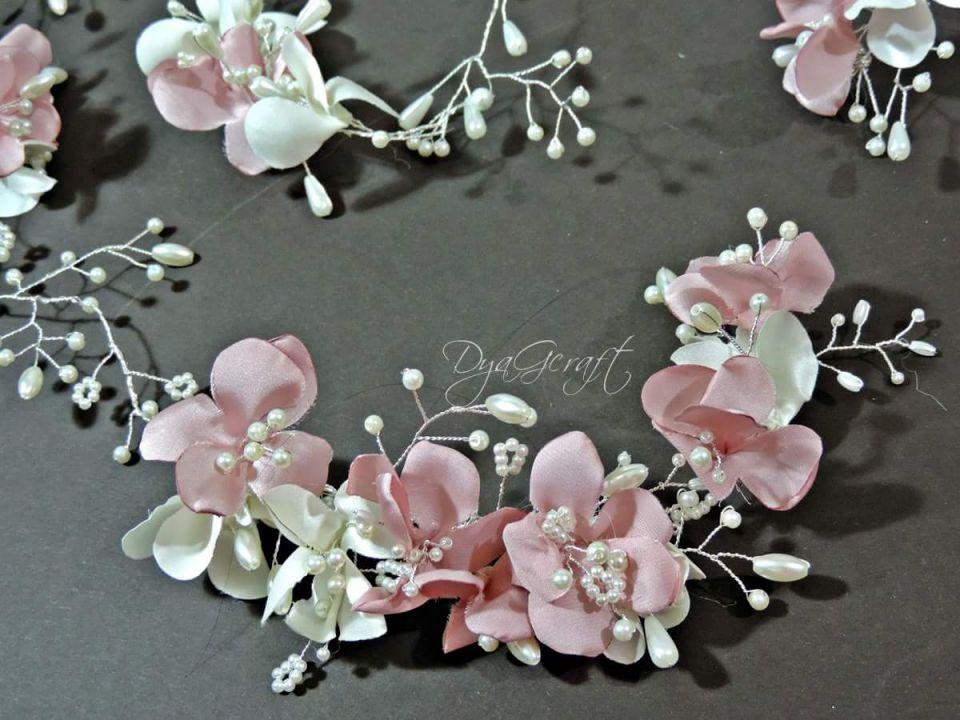 Hairvine, accesoriu par lung Flori de cires