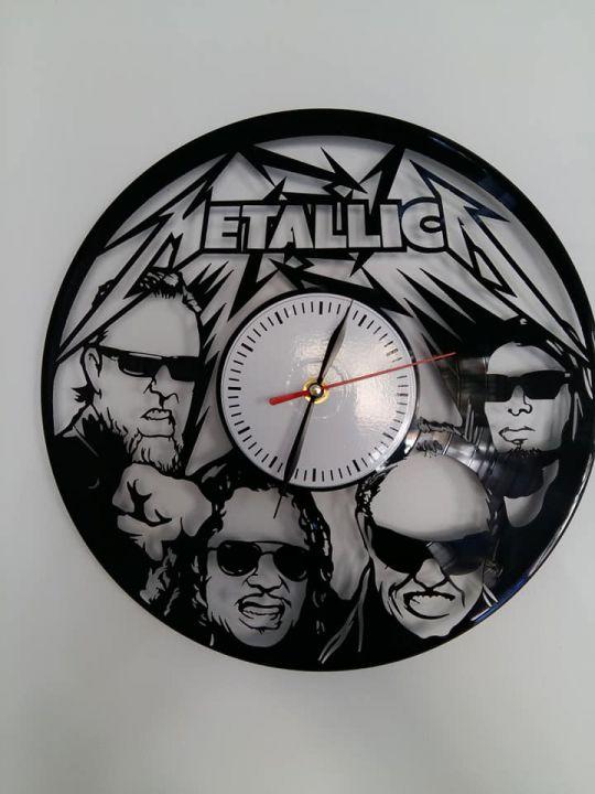 Ceas de perete din vinyl