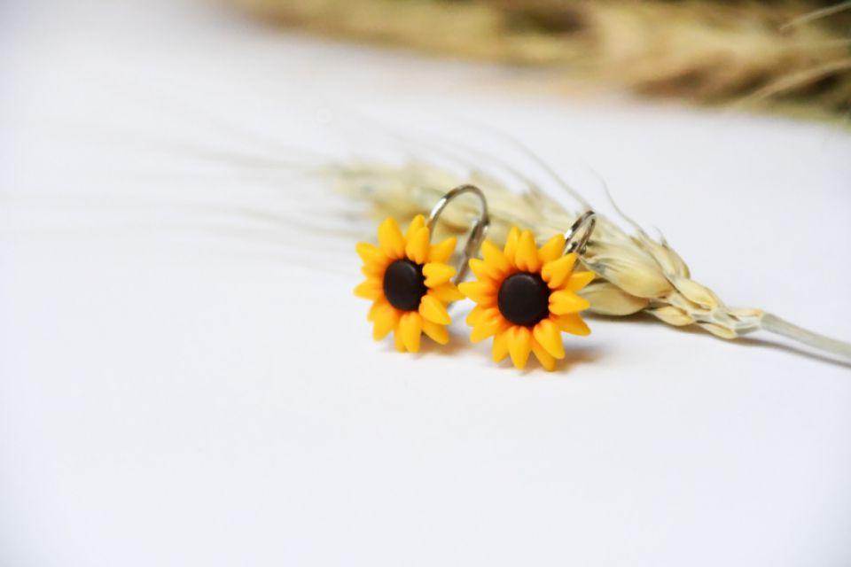 Cercei floarea-soarelui