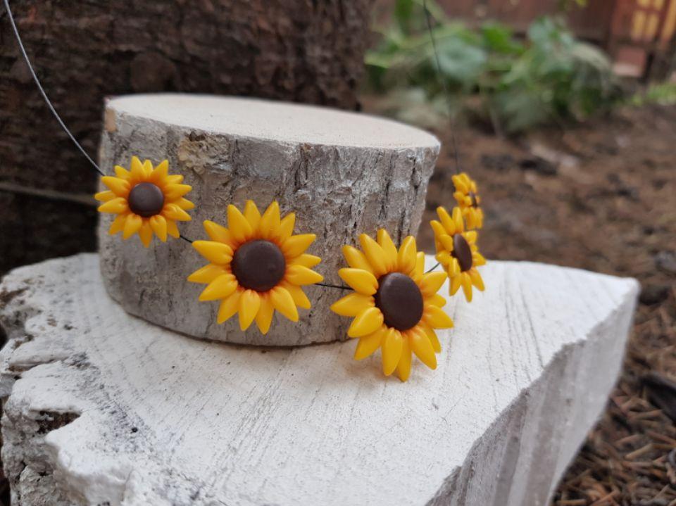 Colier floarea-soarelui