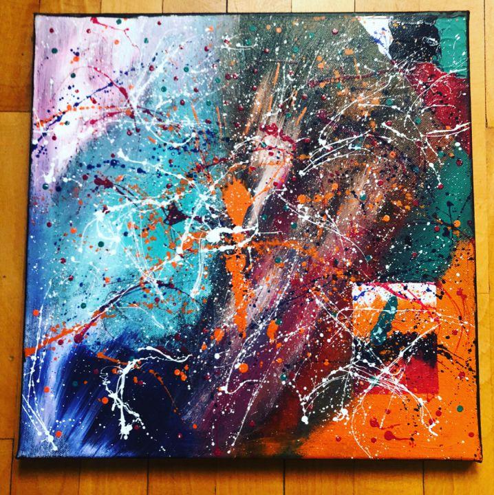 Tablou canvas handmade - Model Abstract