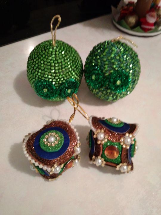 4 decoratiuni verzi