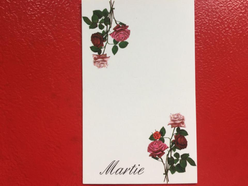 100 Cartonașe mărțisor (8,8*5,4cm)
