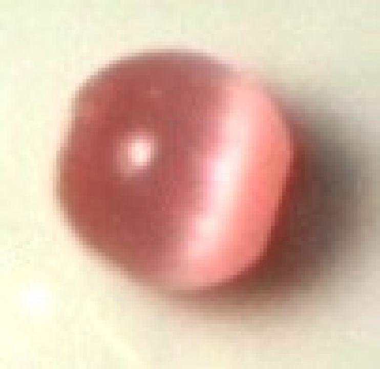 Margele ochi de pisica roz deschis 5 mm