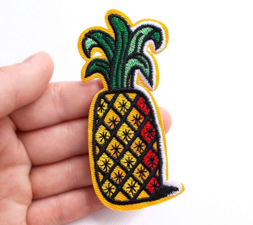 Patch - ANANAS - [iron on] - 1buc