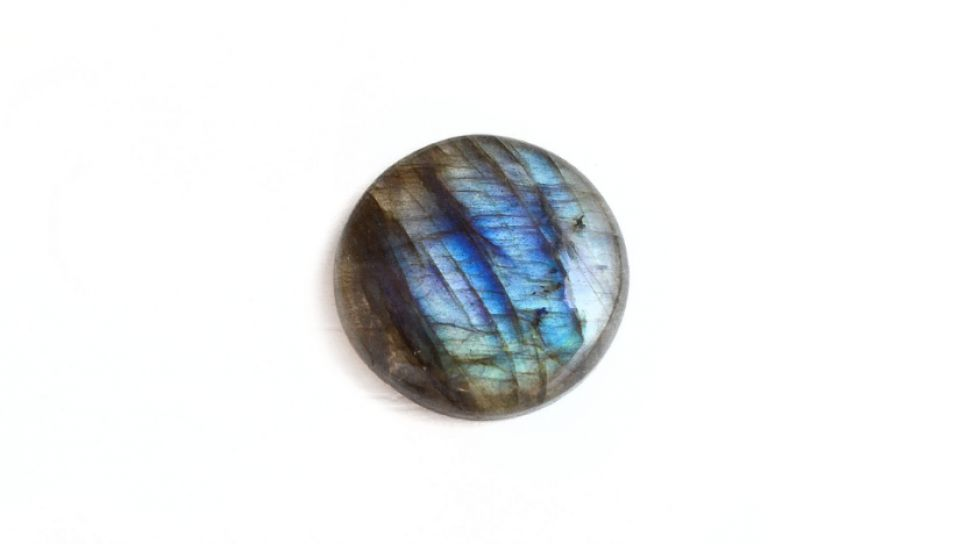 Cabochon Labradorit  rotund - 22 mm  -  LR02