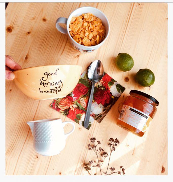 """BOL cereale mic dejun """"Good Morning Beautiful """""""