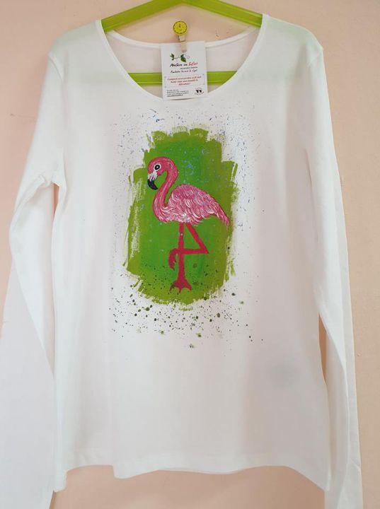 Bluza pentru fetite, pictata manual