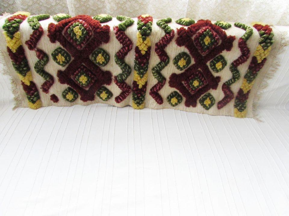 Rustic tesut manual din lana