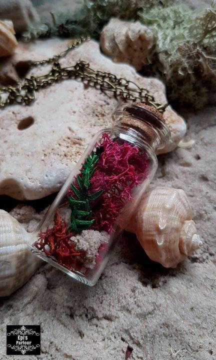 Bottle of surprises necklace