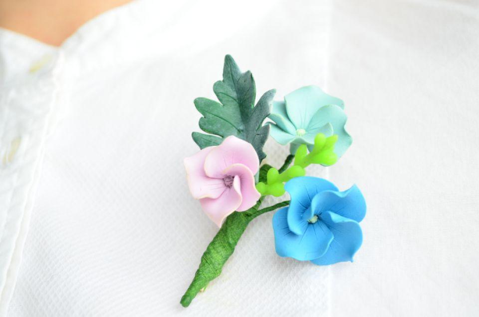 """Hortensii multicolore- brosa """"buchet"""""""