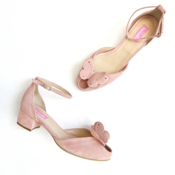 Pantofi din piele, pe comanda, numere 34-40