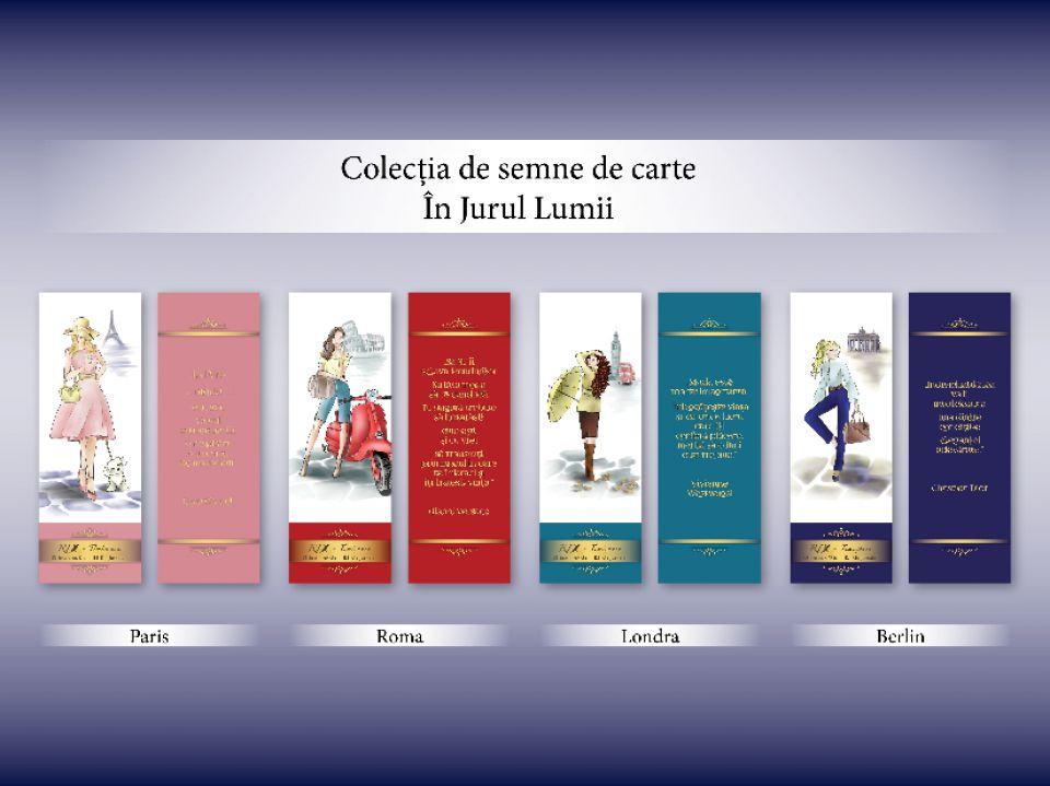 Semn de carte PARIS - Colecția În jurul LUMII