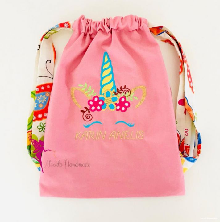 Rucsac personalizat gradinita/ Traistuta cresa/ Rucsac personalizat copii
