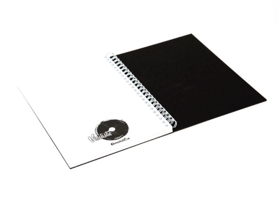 Agenda clasica A5 Hansa, Bird, Carnet personalizat din vinyl reciclat