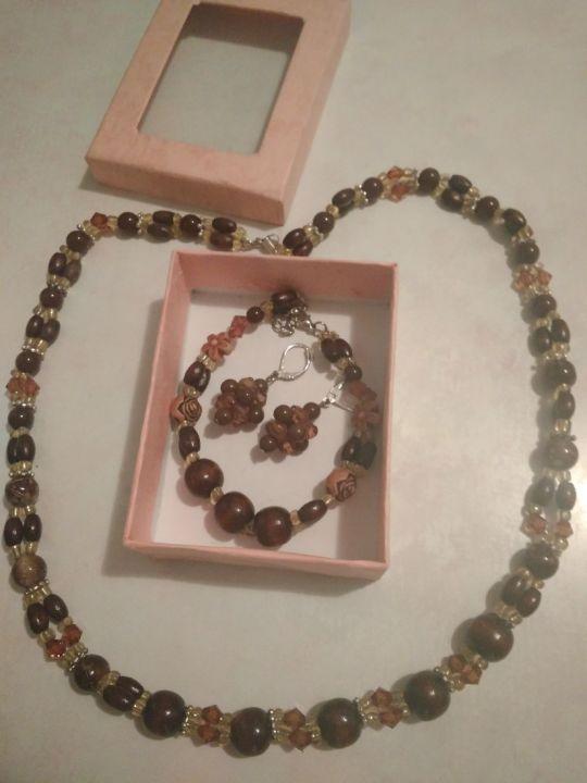 Set bijuterii choco