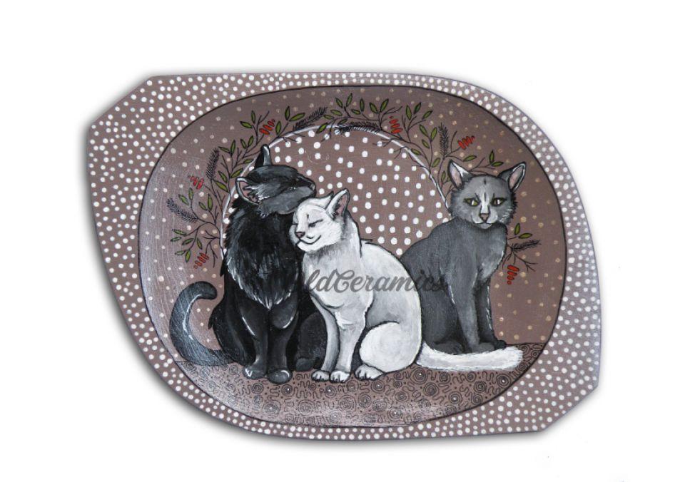 Tava pictata  ,,Cat love''