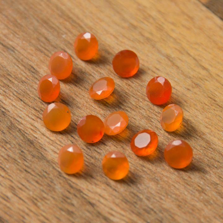 Carneol gema 5mm