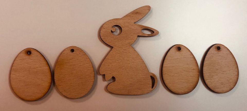 set iepuri si oua de Paste