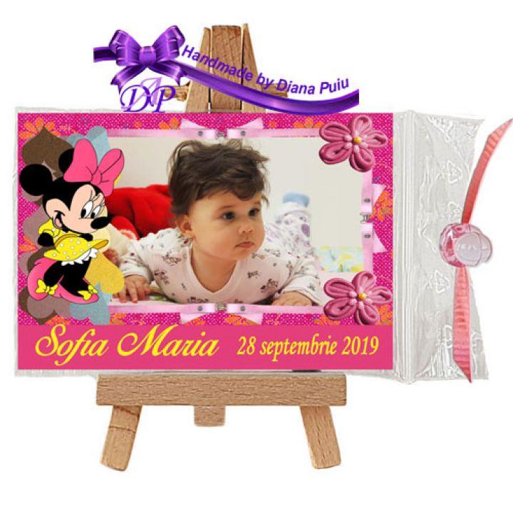 Marturii Botez Magneti Minnie Mouse Mfm 27 Breslo