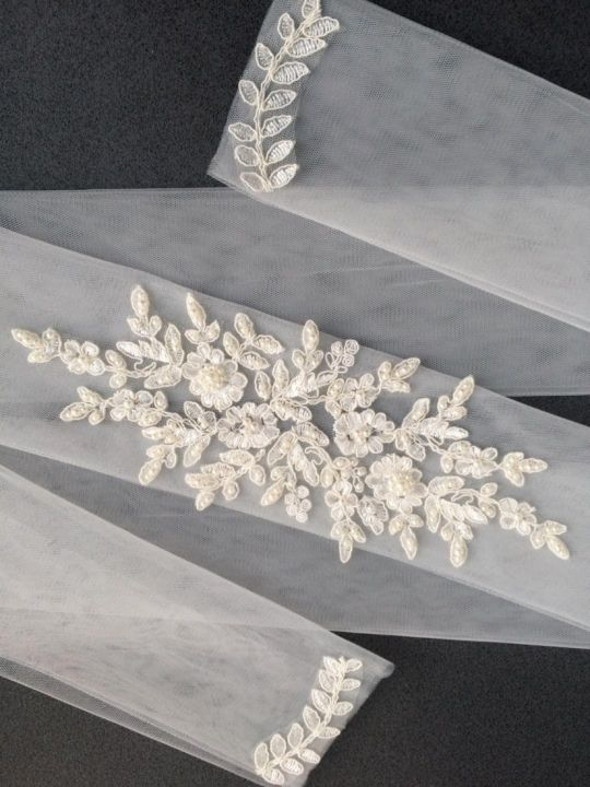 Esarfa ivory (618)