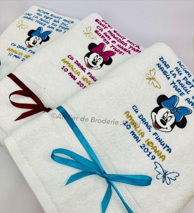 Cadouri pufoase personalizate pentru botez / nasi