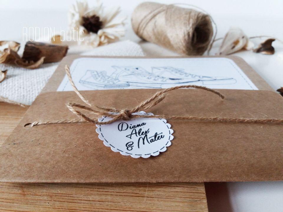 Invitatii Creative Handmade Rustice Nunta Inedite Story Breslo