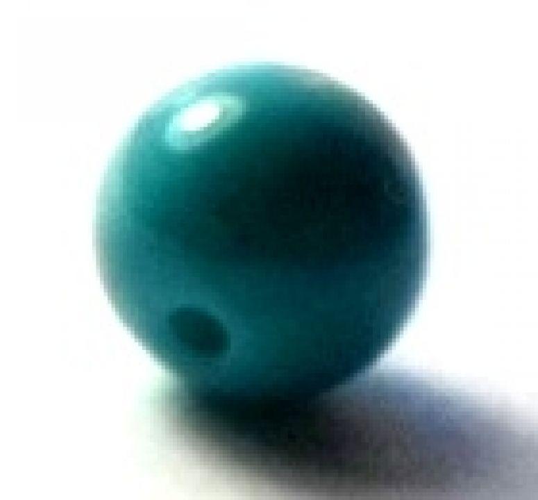 Margele sticla blue 6 mm