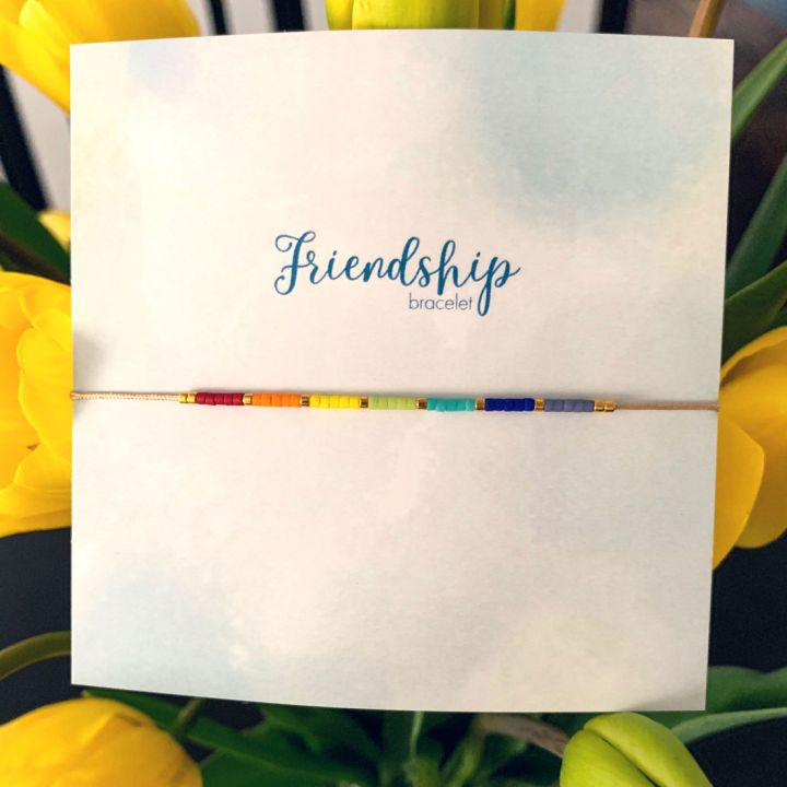 Friendship bracelet - Rainbow